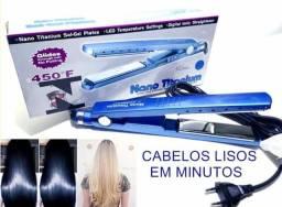 Chapinha alisadora titanium 450f piastra cabelos lindos em minutos