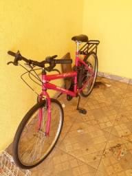 Vendo bicicleta mormai com 18 marchas