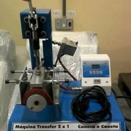 Máquina de estampar LongDrinks e Canetas