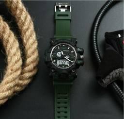1ad76970e93 Top Marca Sanda Estilo Militar G Choque Homens Relógio Digital Eletrônico  Novo Relógio Do