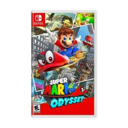 Jogo Super Mario Odyssey Nintendo Switch Fisica Lacrado melhor preço Cg