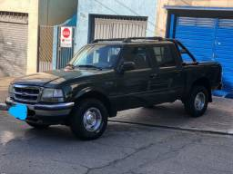 Ford ranger XL cabine dupla ano 2001