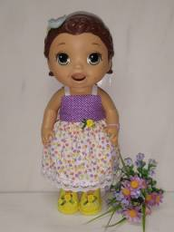 Roupas para bonecas Baby Alive e Similares