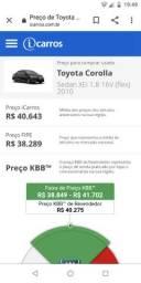 Compro Corolla 2010 xei 1.8 Automático