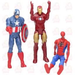 Super heróis 30cm