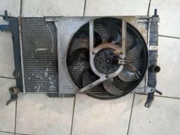 Radiador e ventoinha vectra