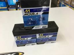 Bateria Moura para fan titan xre300  factor com entrega em todo Rio!