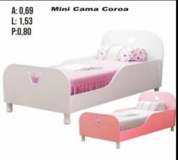 Mini cama coroinha nova
