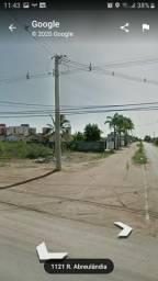 Vende-se 2 terrenos no Planalto esquina da Rua Agrestina com Abreulandia
