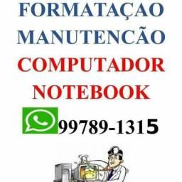 Formatacao Notebook e Computador