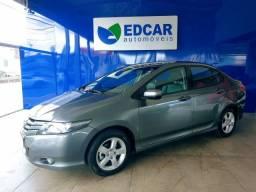 Honda City - 2009/2010 1.5 LX 16V Cinza Flex 4P Automático