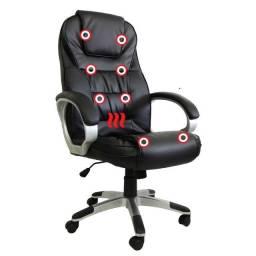 Cadeira Presidente Massagem com Aquecimento Nova com Garantia Entrega Grátis