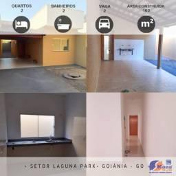 Casa 2 quartos sendo 1 suíte, R$147.000,00, Goiânia - GO