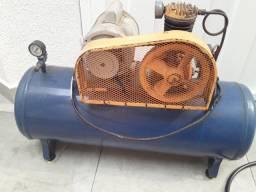 Compressor + regulador de pressão