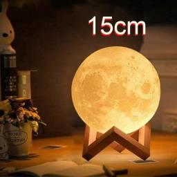 Moon lamp, abajur Lua com diversas cores