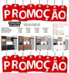 Armário de cozinha Aline mega promoção
