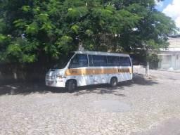 Microonibus troca