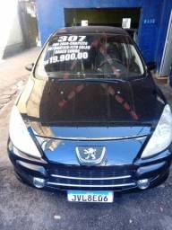 Peugeot  307 automatico completo, Teto, Couro