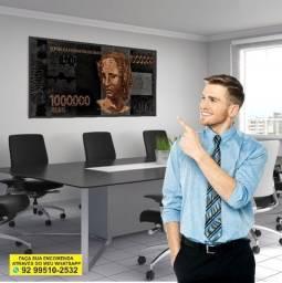 Título do anúncio: Um milhão de Reais *quadro para seu escritório