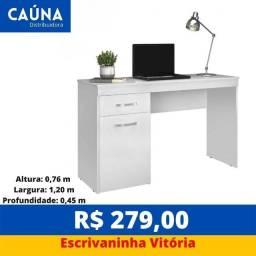 Título do anúncio: Mesa Escrivaninha Vitória - Entrega Grátis