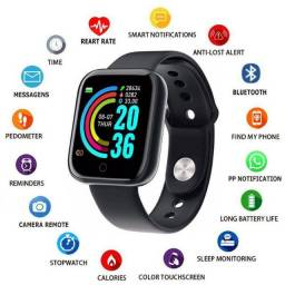 Relógio D20 Smartwatch ios/android