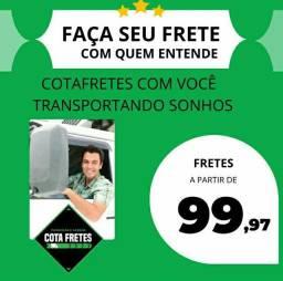 Título do anúncio: Frete mudança residencial recife olinda jaboatão camaragibe paulista
