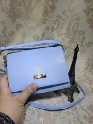 Título do anúncio: Bolsa de mão transversal azul