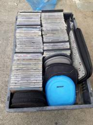 CDs diversos, Dvd e aparelho de DVD