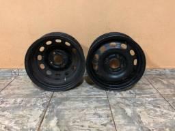4 rodas de ferro + pneus