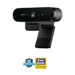 Webcam 4k Logitech Brio Pro Full Hd Hdr Rightlight 3 (Ac cartao)