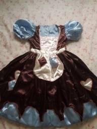Vende se vestido de festa Cinderela × Gata borralheira