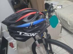 Capacete tsw ciclismo