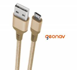 Cabo Micro USB Em Nylon Trançado Essential