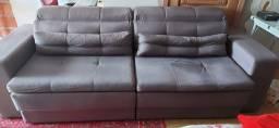 Título do anúncio: Sofá reclinável e retrátil