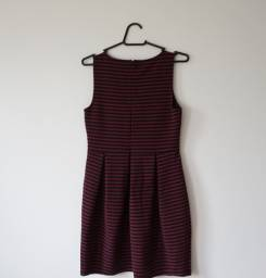 Vestido Vintage Listrado