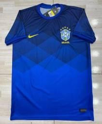 Título do anúncio: Camisas da Seleção Brasileira Nike 21/22 Novos Modelos Entrego