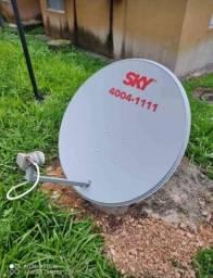 Título do anúncio: Técnico Instalador De Antenas Sky Claro Oi e Outras