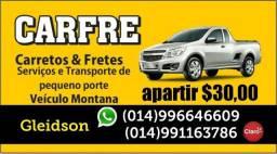Carreto e frente R$ 30,00 Bauru sp