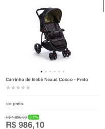 Carrinho de bebê Nexus Zerado!!
