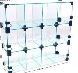 Vitrine de vidro 150 reais