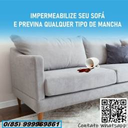 Título do anúncio: Impermeabilização de sofá (e estofados em geral )