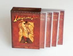 Box Combo Dvd  - As Aventuras De Indiana Jones (4 Dvd's) Tri + Extras