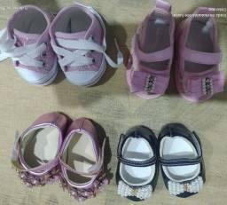 Título do anúncio: Sandália infantil de RN/ até 6/7 meses