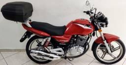 Suzuki Gsr 125 2016 Vermelha