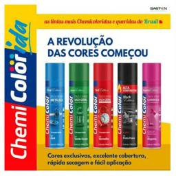 Spray uso geral chemicolor 500ml R$: 12,00und