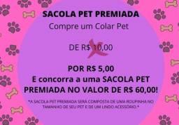Sacola Pet Premiada - By Patinhas Moda Pet