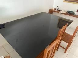 Tampo de vidro temperado 2,20m X 1,40m X 10mm