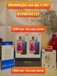 POCO X3 PRO 8GB E 256GB /REDMI NOTE 10S 6GB E 128GB