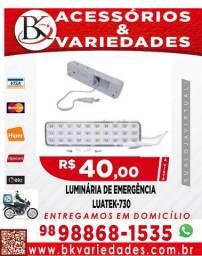 Luminária De Emergência Recarregável 30 Leds Lk-730 Promoção!!!!