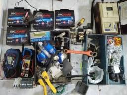 Título do anúncio: Multímetro , Sequencimetro, Terrometro e ferramentas para Eletricista.